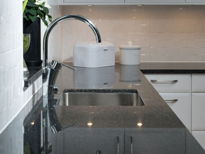 Imapala Granit Bänkskiva Svart