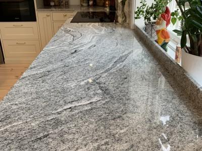 Viscount White Grå Granit Ljus granit